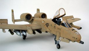 What Color Is Buff >> 1/48 Monogram A-10 by Thang Le