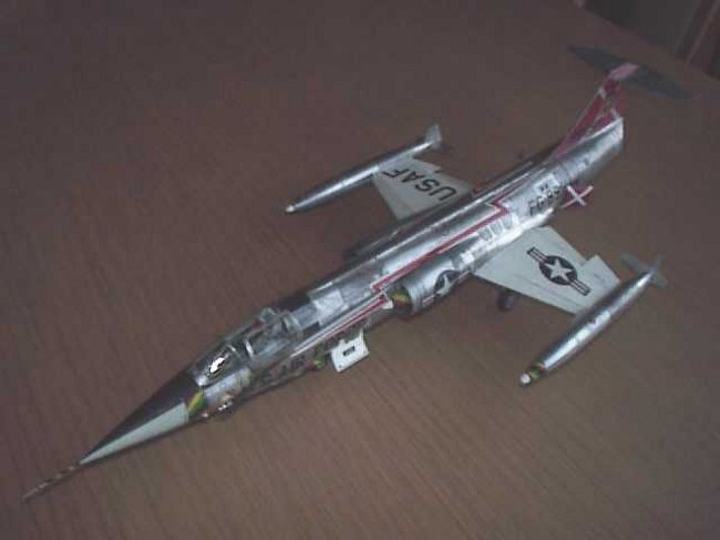 1/48 Hasegawa F-104C Starfighter by Patrick Spitaels