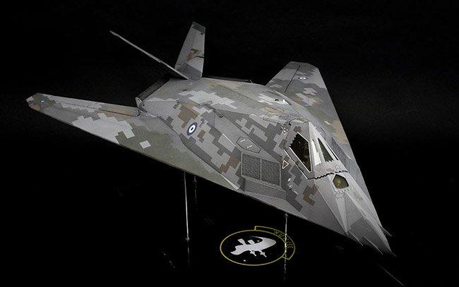 1/48 Revell F-117A Nighthawk by Amen