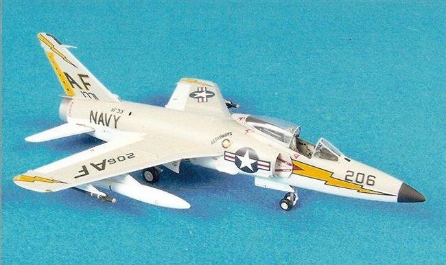 """1/72 Hasegawa F11F """"Tiger"""" by Donn A. Wells MD"""