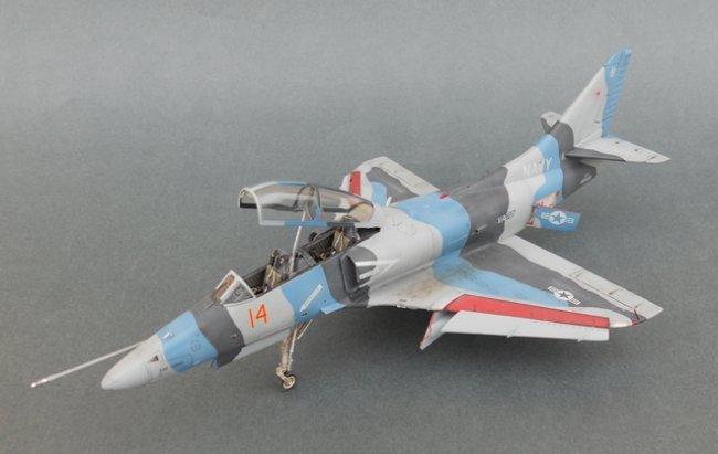 Master Car Wash >> 1/48 Hasegawa TA-4J Skyhawk by Busolini Massimo