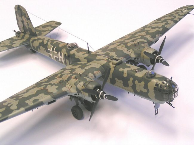 1 72 Revell Heinkel He 177 A 5 By Tom Mandys