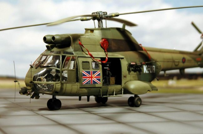1 32 Revell Royal Air Force Puma Hc 1 By Thomas Neuss
