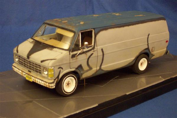 1 25 Kitbash Scratchbuild Possum Van From The Red Green