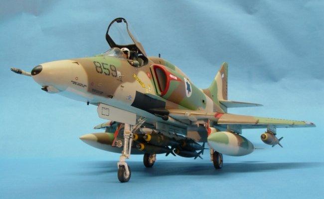 1 32 Hasegawa A4 E Skyhawk Iaf By Ed Okun