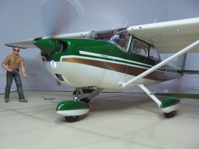 1 20 Nichimo Cessna 172 Skyhawk Scene First Solo By George R Mustafa