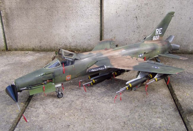 1 32 Trumpeter F 105d Thunderchief By Daniel