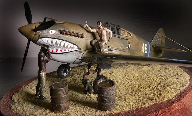 1 72 Hobby Boss Hawk 81 P 40b By Billbuccaneer
