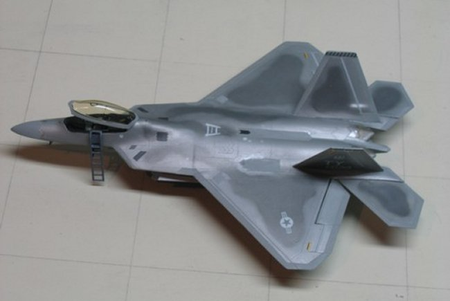 Spray Paint Mask >> F-22A Raptor Paint by Mark S.